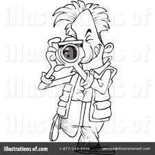 grapher clipart black and white