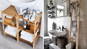 10 bathroom ikea hacks that actually work in small spaces