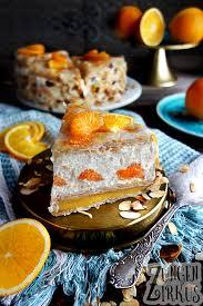orangen mandarinen torte mit quark zungenzirkus