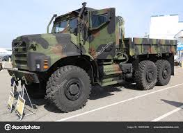 100 7 Ton Military Truck Marine Corps AMK23 Ton Cargo Stock Editorial Photo