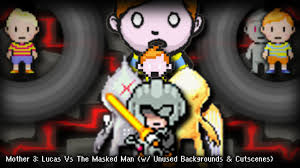 Earthbound Halloween Hack Final Boss by ᚙ Mother 3 Final Battle Lucas Vs The Masked Man W Unused