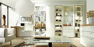bureau bibliothèque intégré bibliotheque bureau integre et composition ha 1 4 vitrine bureau