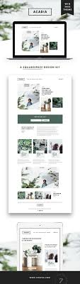 100 Modern Design Blog Website Minimal Squarespace Design Website