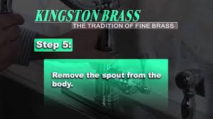 Kingston Brass Faucet Problems by Faq How Do I Debris That Reduce Water Flow From Ks7811blbs