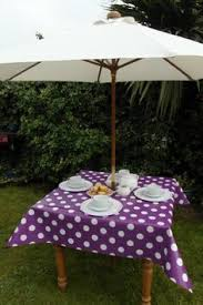 Outdoor Tablecloth With Umbrella Hole Uk by Garden Plastic Table Grey Patio Furniture Outdoor Dining Table