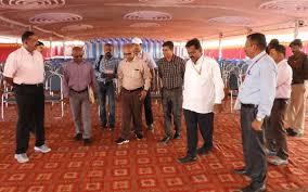 100 Sridhar Murthy Shravanabelagola Rly Station All Set To Welcome Huge