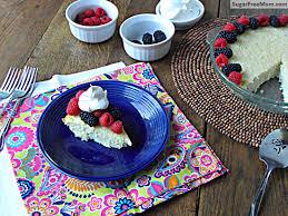 Splenda Pumpkin Pie Crustless by Sugar Free Crustless Coconut Custard Pie Dairy Free Gluten Free