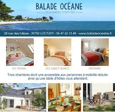 balades chambres d hotes chambres d hôtes balade océane loctudy finistère sud