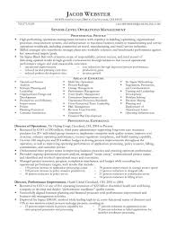 Executive Resume For Tim Hinson Page 1 Supply Chain Resumes Templates