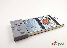 G pad GBA4iOS This sleeve turns your iPhone into a GameBoy But