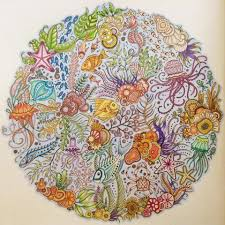 Johanna Basford Is The Prolific Illustrator Behind Secret Garden Enchanted Forest And Now Lost Ocean Which Was Published In October For Her Latest