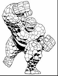 Extraordinary Marvel Super Heroes Coloring Pages With Superhero Page And To Print