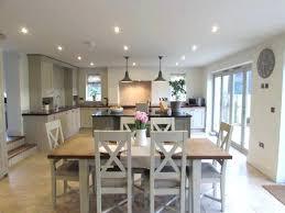 Open Concept Kitchen Dining Room Living Combo Floor Plans