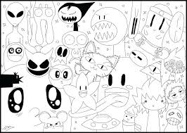 Kawaii Coloring Book Pages Your Creations You Have Colored This Page Cute Colouring