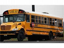 100 Stevens Truck Driving School 1 Dead 17 Injured In NJ School Bus Crash Safety Bus Fleet