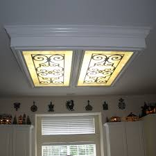 fluorescent lights stupendous kitchen light cover fluorescent