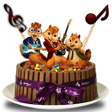 Alvin And The Chipmunks Cake Decorations Uk by 1621 Best Cakes Images On Pinterest Chipmunks Alvin And The And