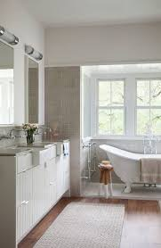 Farmhouse Style Sink by Farm Style Sink Bathroom Farmhouse With Flat Panel Cabinets Flat