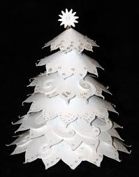 Paper Christmas Trees To Make