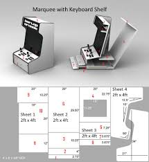 Arcade Cabinet Plans Metric by Mame Bartop Cabinet Plans With Arcade Diy Memsaheb Net And Metric