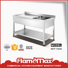 Stainless Steel Fish Cleaning Station With Sink by Stainless Steel Fish Cleaning Table Sink With Drain Board