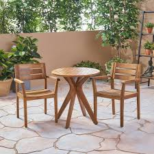 Addison Outdoor 3 Piece Acacia Wood Bistro Set – GDF Studio Pub Tables Bistro Sets Table Asuntpublicos Tall Patio Chairs Swivel Strathmere Allure Bar Height Set Balcony Fniture Chair For Sale Outdoor Garden Mainstays Wentworth 3 Piece High Seats Www Alcott Hill Zaina With Cushions Reviews Wayfair Shop Berry Pointe Black Alinum And Fabric Free Home Depot Clearance Sand 4 Seasons Valentine Back At John Belden Park 3pc Walmartcom