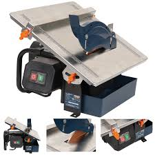 Sigma Tile Cutter Canada by Ferm 180mm 600w Wet Electric Tile Cutter Free Diamond Blade Ebay