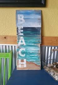 Playa Relax Plataforma Pared Decoracion Por TheWhiteBirchStudio