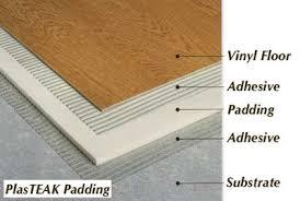 Bottom Side Vinyl Floor Padding