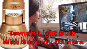 tovnet light bulb with security