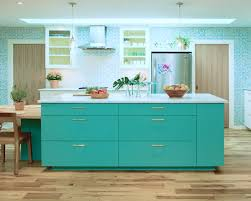 Teal Green Kitchen Cabinets by Painting Kitchen Cabinets Turquoise U2013 Quicua Com