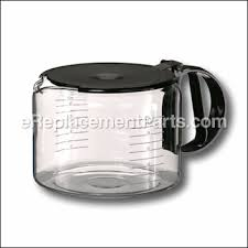 10 Cup Coffeemaker Glass Carafe With Lid Black No Longer Available More Info Part Number 64085780