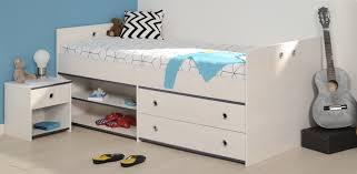 schlafzimmer 2 tlg inkl 90x200 stauraumbett smoozy 24a parisot kiefer weiss blau