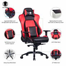 100 Heavy Duty Office Chairs With Removable Arms Shop For KILLABEE Big And Tall 400lb Memory Foam Gaming Chair 90