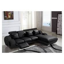 canape angle relax cuir canapé d angle cuir relax design noir vilnus achat vente