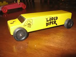 Loaded Diaper Pinewood Derby From Diary Of A Wimpy Kid