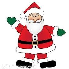 cartoon santa clipart