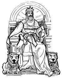 Coloring Kids Ideas Bible King Pages 27 Inside David Becomes