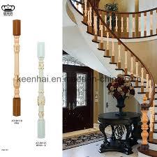 balustrade d intérieur de luxe décorative d aluminium d escalier