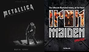 IRON MAIDEN METALLICA New Updated Editions Of The Best Selling