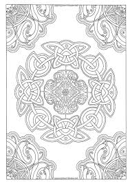 Warm Celtic Coloring Book 229 Best Pages Images On Pinterest