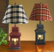 Black Iron Lantern Table Lamp 20