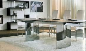 moderner esstisch aus holz glas und metall 15 designs