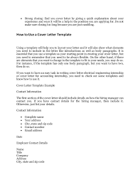 What Does A Cover Letter Need To Include
