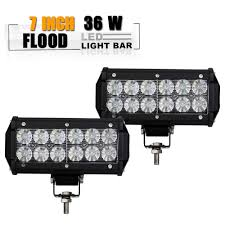 TURBOSII 2pcs 7 Inch Led Light Bar Flood Led Off Road Grill Bumper ... 300w 52 Curved Work Led Light Bar Fog Driving Drl Suv 4wd Boat 20 630w Trirow Cree Combo Truck Atv 53 Razor Extreme Lightbarled Light Barsled Outfitters Chevy Ck Roof Mount For Inch Curved 8998 92 5 Function Trucksuv Tailgate Brake Signal Reverse 052015 Toyota Tacoma 40inch Rack Avian Eye Tir Emergency 3 Watt 63 In Tow Light Rough Country Black Bull W For 0717 50inch Philips Flood Spot Lamp Offroad 13inch Double Row C3068k Big Machine Isincer 7 18w Automotive Waterproof Car
