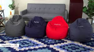 Fuf Bean Bag Chair By Comfort Research by Comfort Research Medium Ultra Lounge Personalized Twill Bean Bag