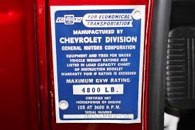 1955 Chevrolet 3100 Pickup Stock # 15011V For Sale Near San Ramon ...