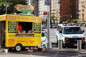 100 New York City Food Trucks USA June 29 2018 Nathans Hot Dog Truck
