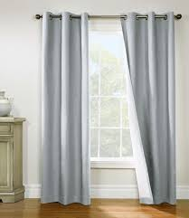 Grommet Insulated Curtain Liners by Weathermate Insulated Grommet Top Curtains Thermal Curtains