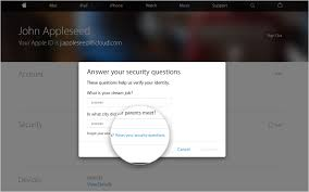 forgot security question